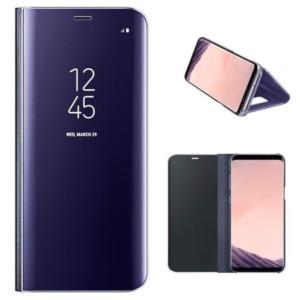 Original zaščitna preklopna torbica za Samsung Galaxy G955 S8 Plus Clear View (ef-zg955cve) Violet