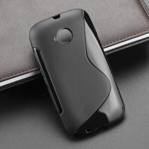 Gumirani zaščitni ovitek (TPU) S-Line Motorola Moto E (XT1524)