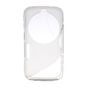 Gumirani zaščitni ovitek (TPU) S-Line Samsung Galaxy C115 K S5 Zoom Transparent