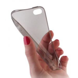 Gumirani zaščitni ovitek (TPU) Ultra Slim 0,3mm za Apple iPhone 4 / 4S Black