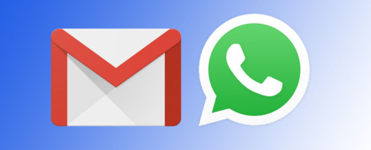 WhatsApp in Google Gmail v vsak po eno milijardo rednih uporabnikov
