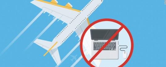 ZDA prepovedale elektronske naprave na letalih. Velika Britanija bo to storila kmalu!
